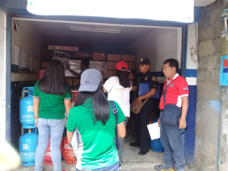 BPLO, DOE, BFP Inspection of Gas Stations