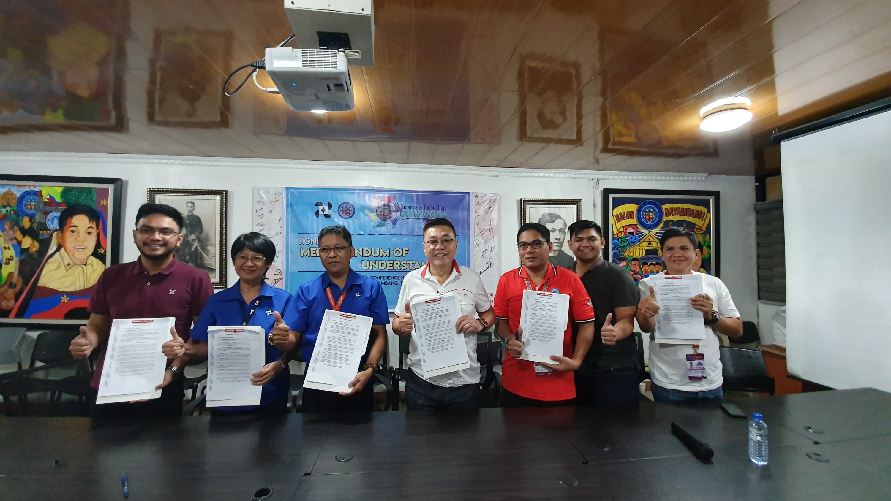 MOU Between LGU and DOST
