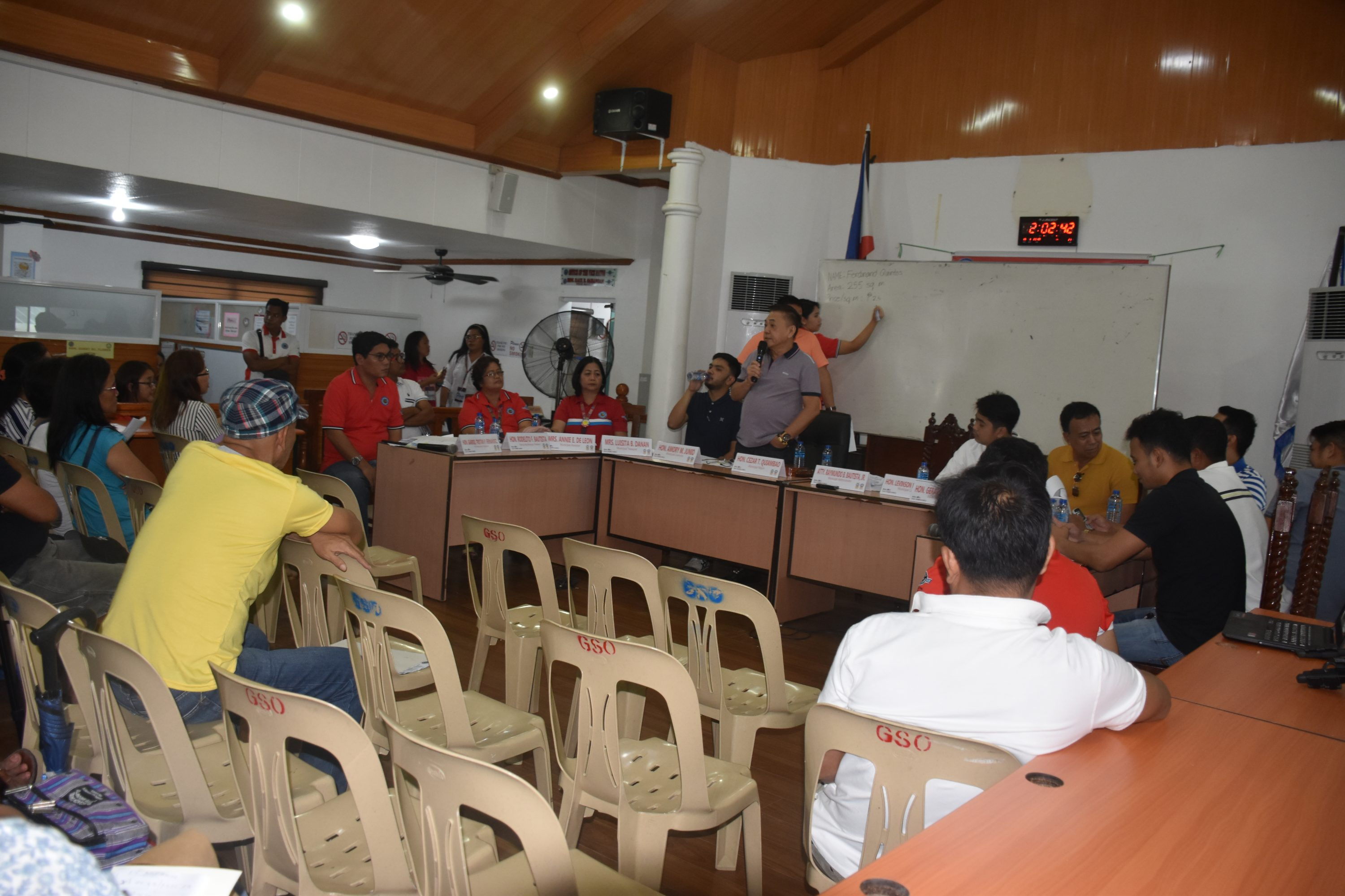 Public Hearing on Magsaysay Property Mode of Payment