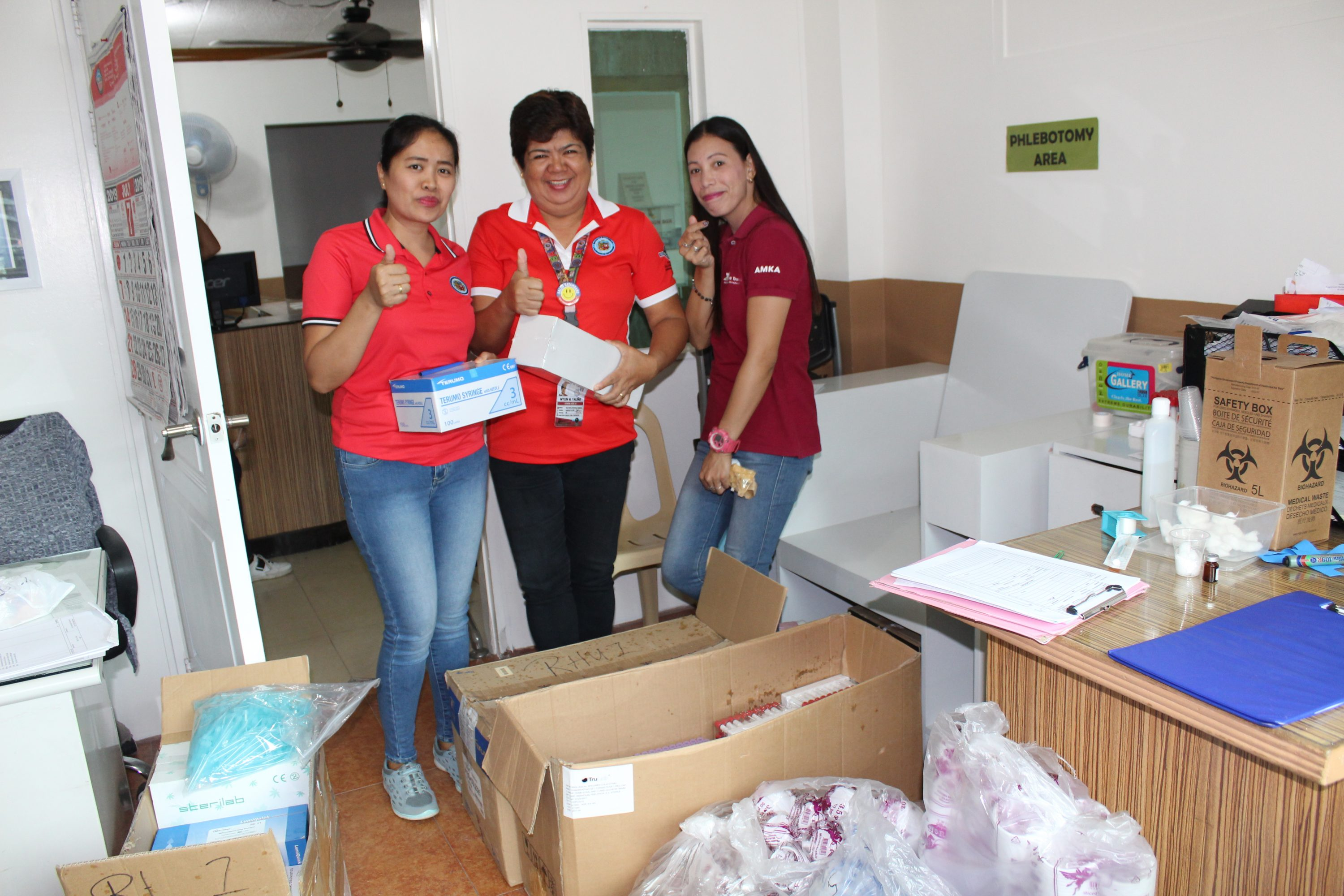 GSO – B. Delivery of medicines and medical supplies to RHU 1 and Nutrition Office