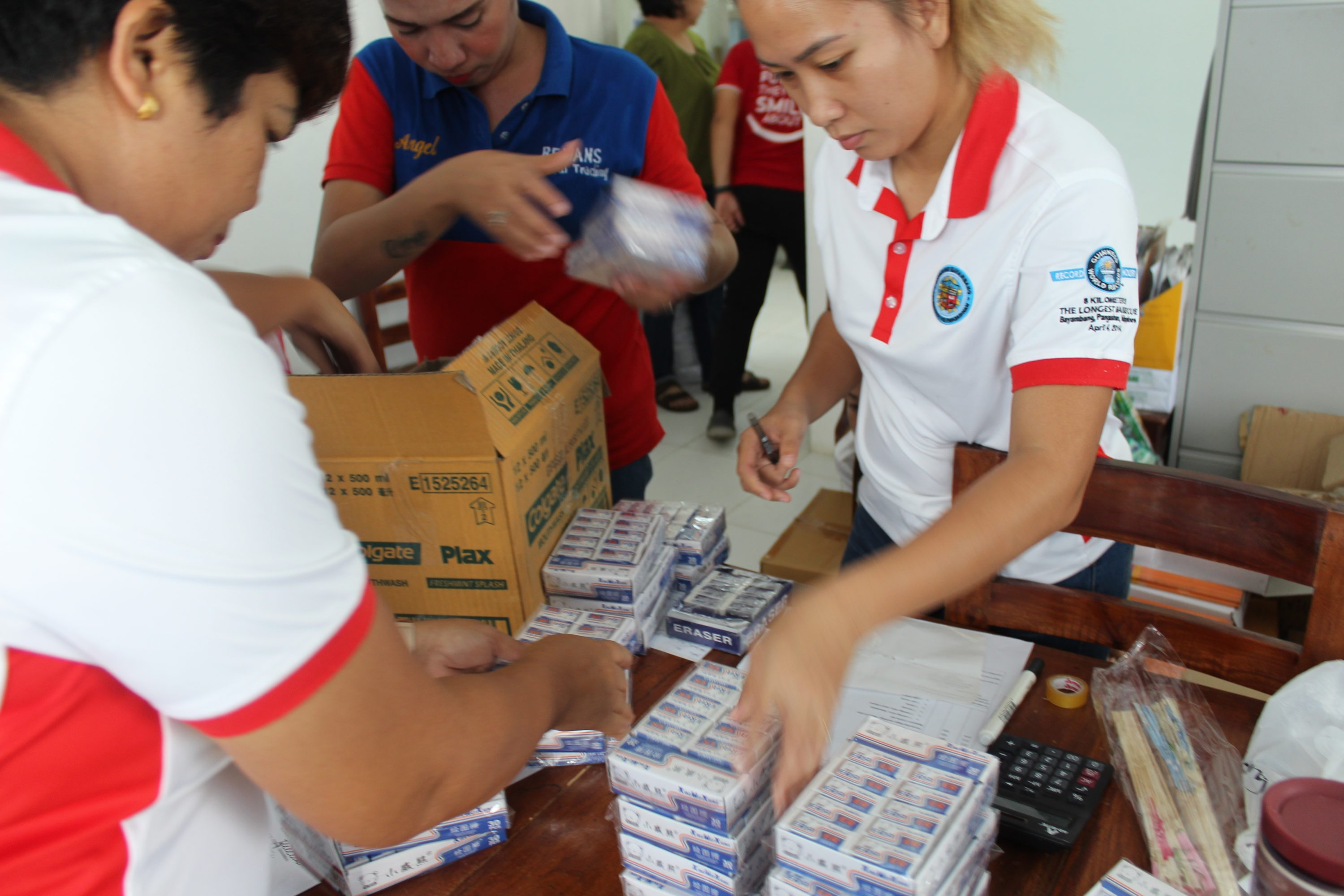 inspection and deliveries of and medical supplies to rhu 2,and 3