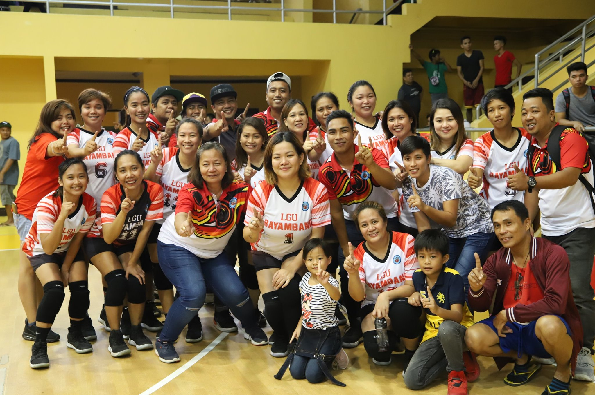 Lady Warriors nagkampeon!