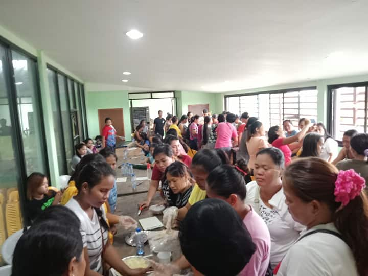 Para sa Mga Nanay – Training on Food Processing