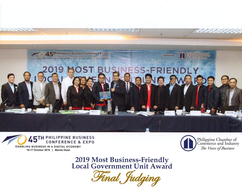Bayambang, Finalist sa 2019 Most Business-Friendly LGU Award