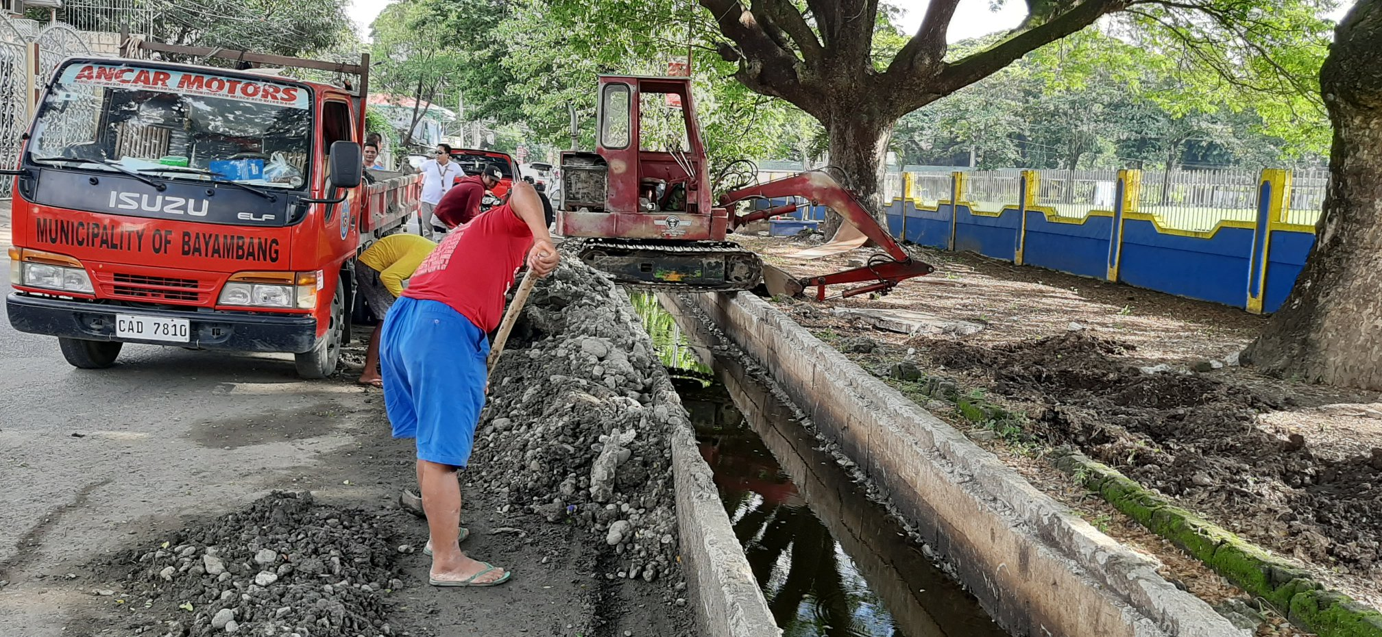 ONGOING Rehabilitation of Drainage System in Zone III (fronting PSU)