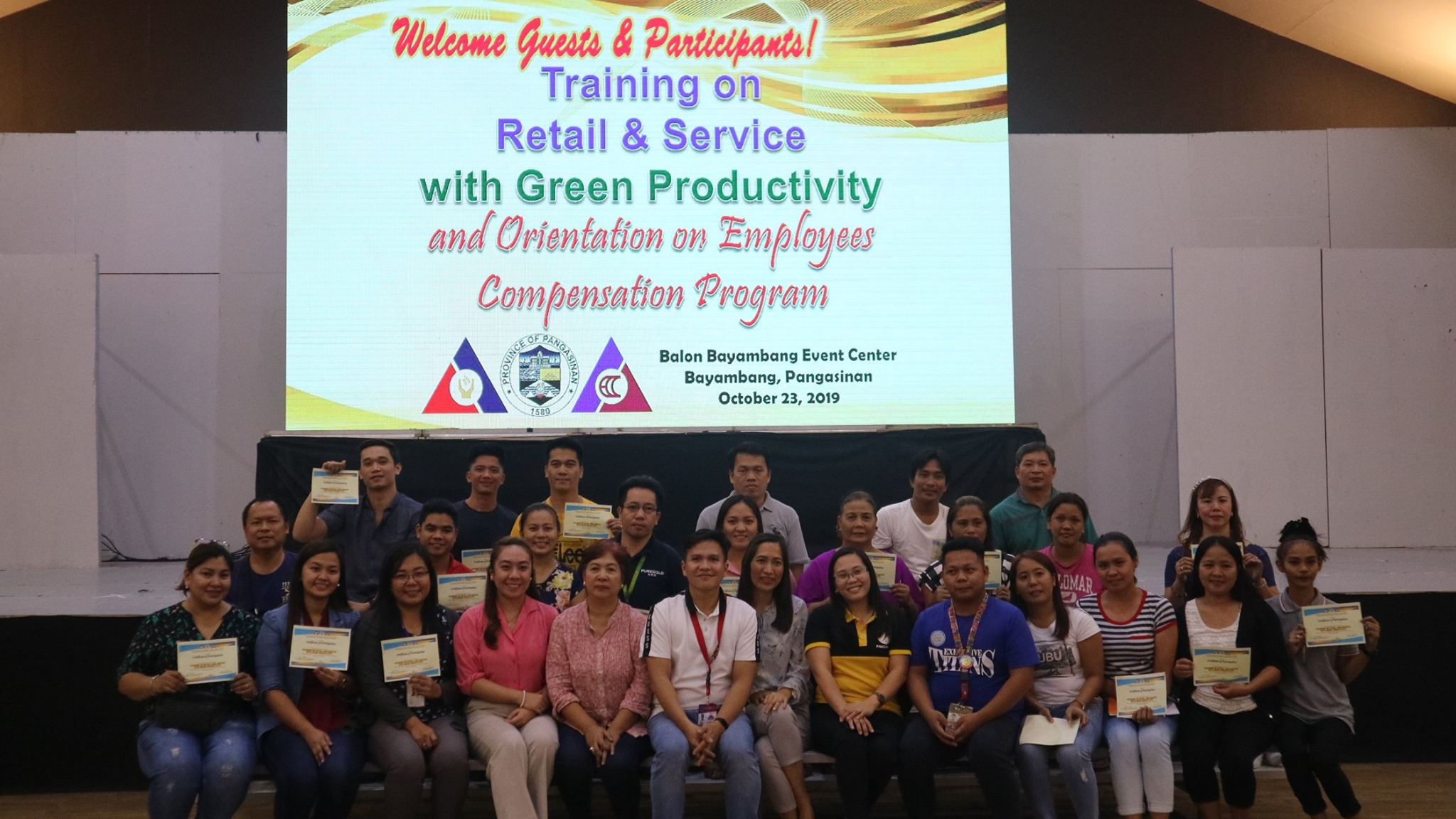 PESO Training on Retail Services