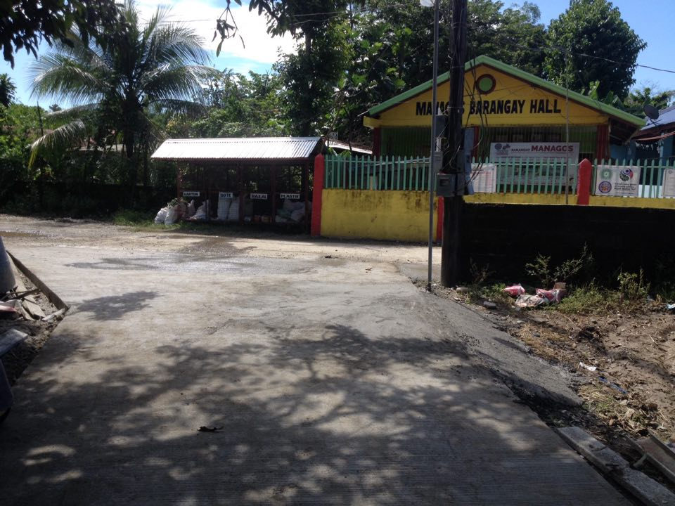 ONGOING – Upgrade of Flooring of Managos Brgy. Plaza