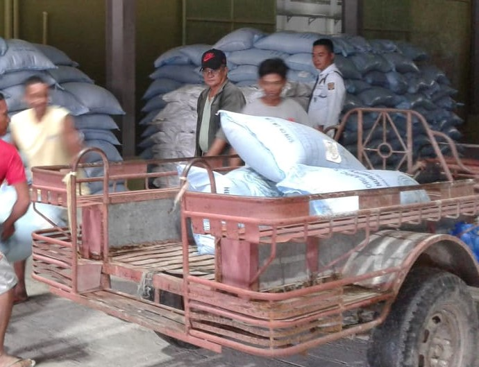 Rice Seed Distribution, Ongoing
