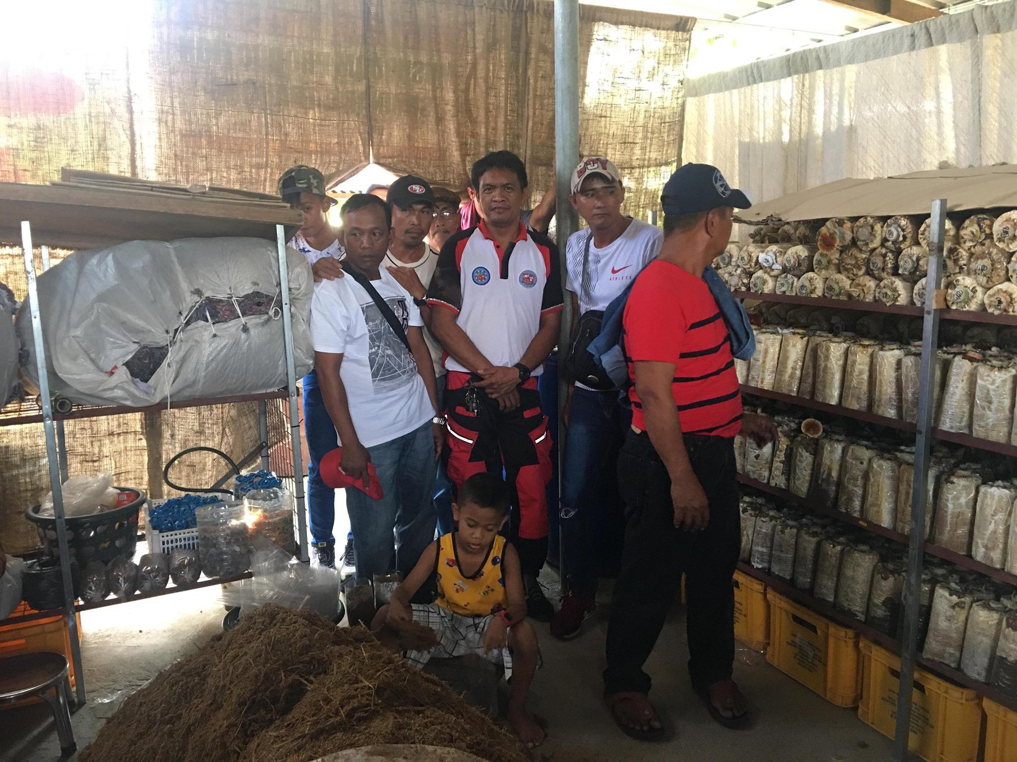 Palayamanan Plus Participants, Nag-Lakbay Aral