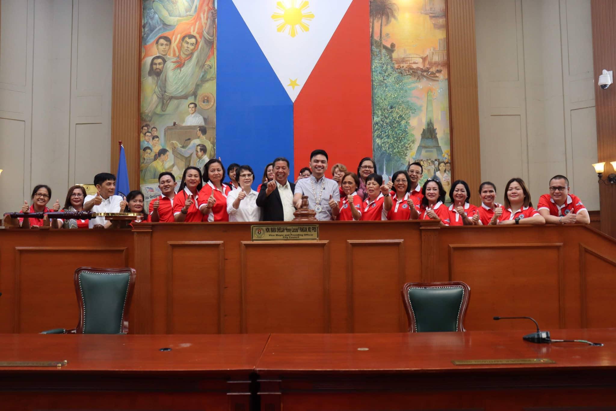 LGU Officials, Naglakbay-Aral sa Manila City Hall