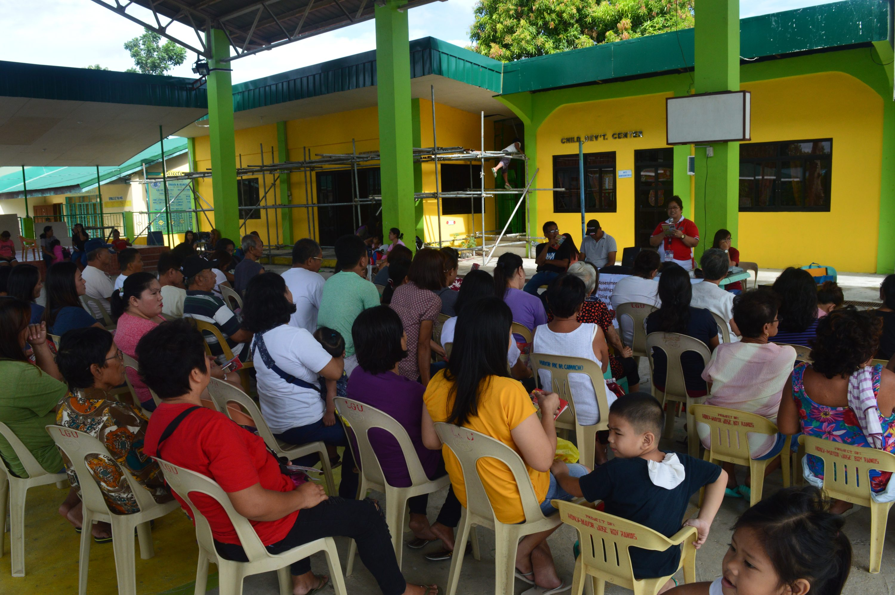 Tax IEC Goes to Buayaen and Warding
