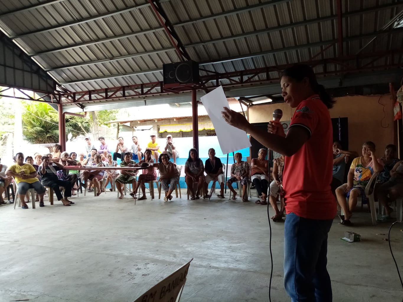 RSBSA Orientation at Validation for Farmers