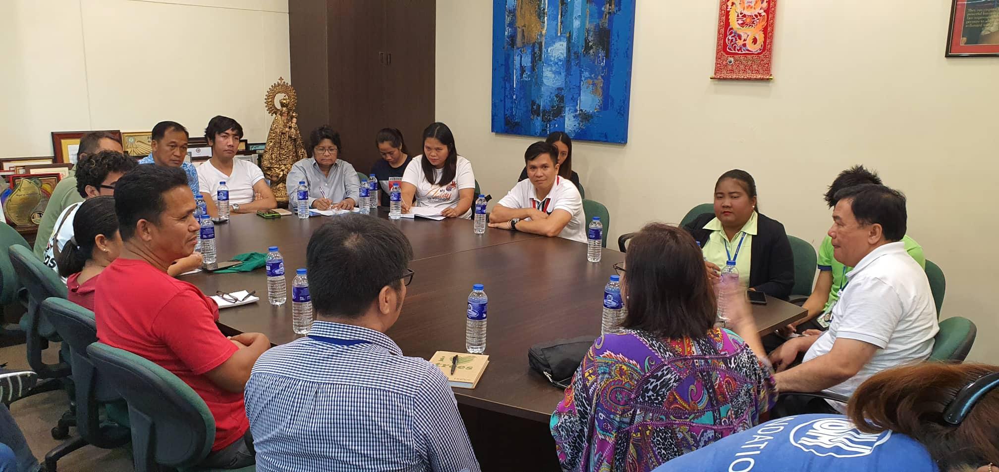 BPRAT, MAO, MSWDO Meet with SM Foundation