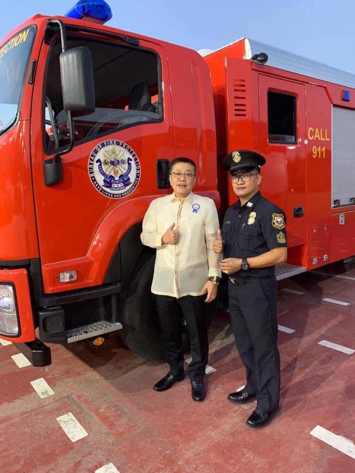 Bagong Fire Truck para sa Balon Bayambang