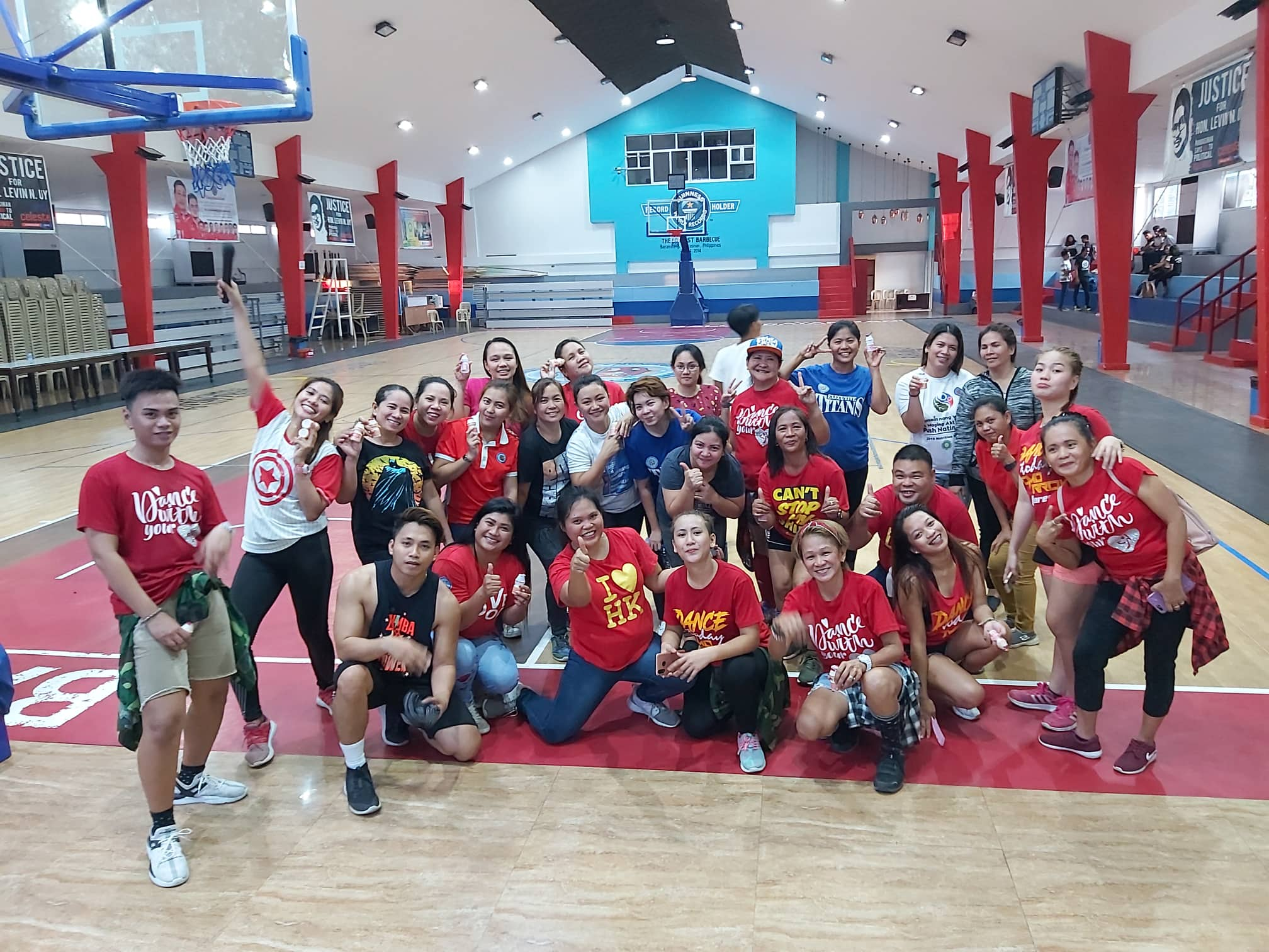 LGU Wellness Program with KKSBFI Zumba Instructors