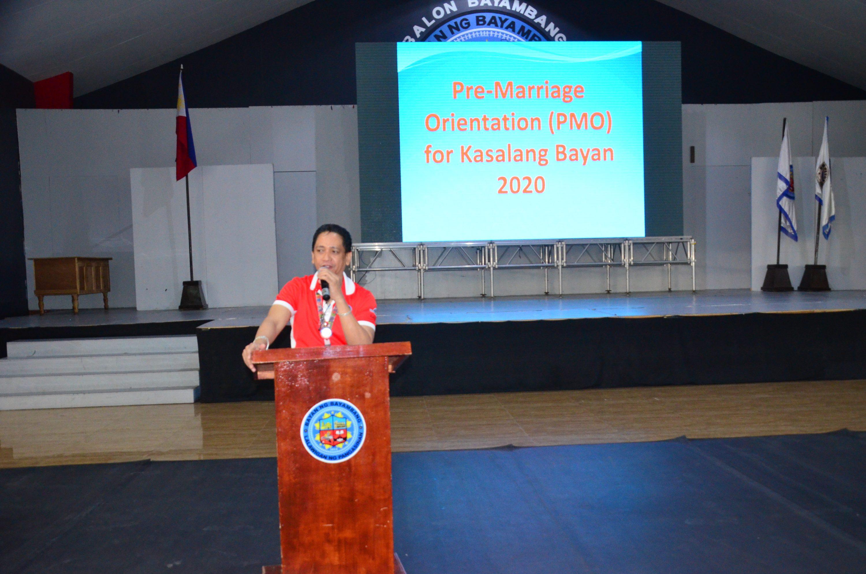 Pre-Marriage Orientation 2020