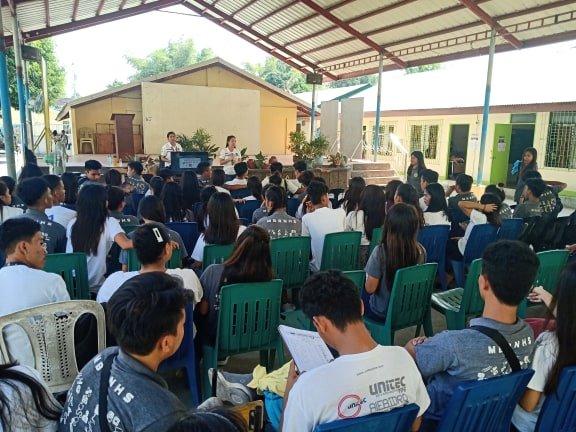 Pep Talk para sa Boluntaryong Pagbibigay ng Dugo