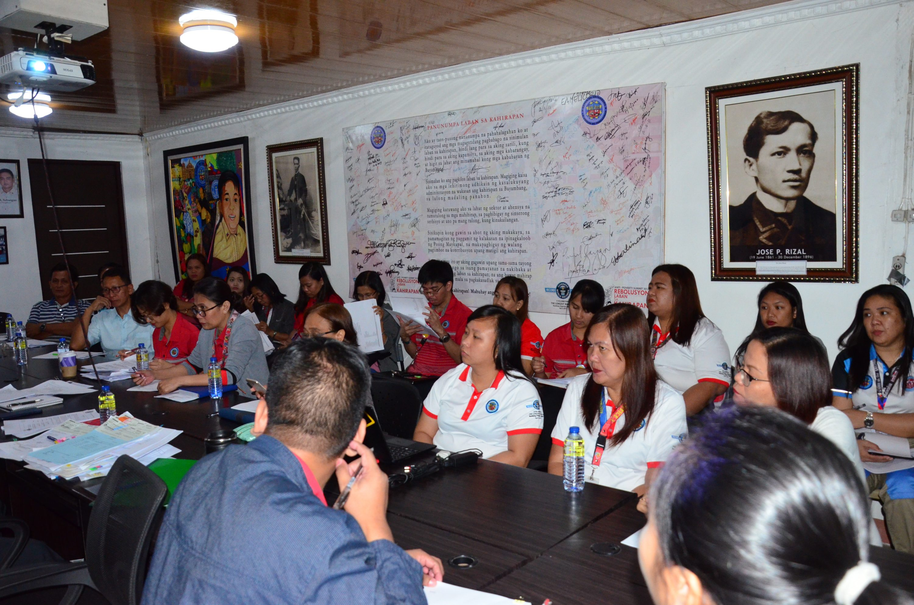 MOA Signing for DSWD SLP