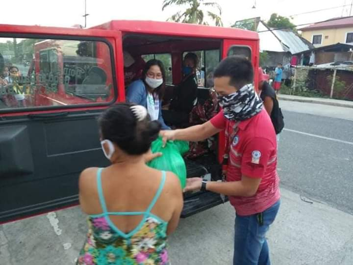 On Going; Distribution of Relief Goods