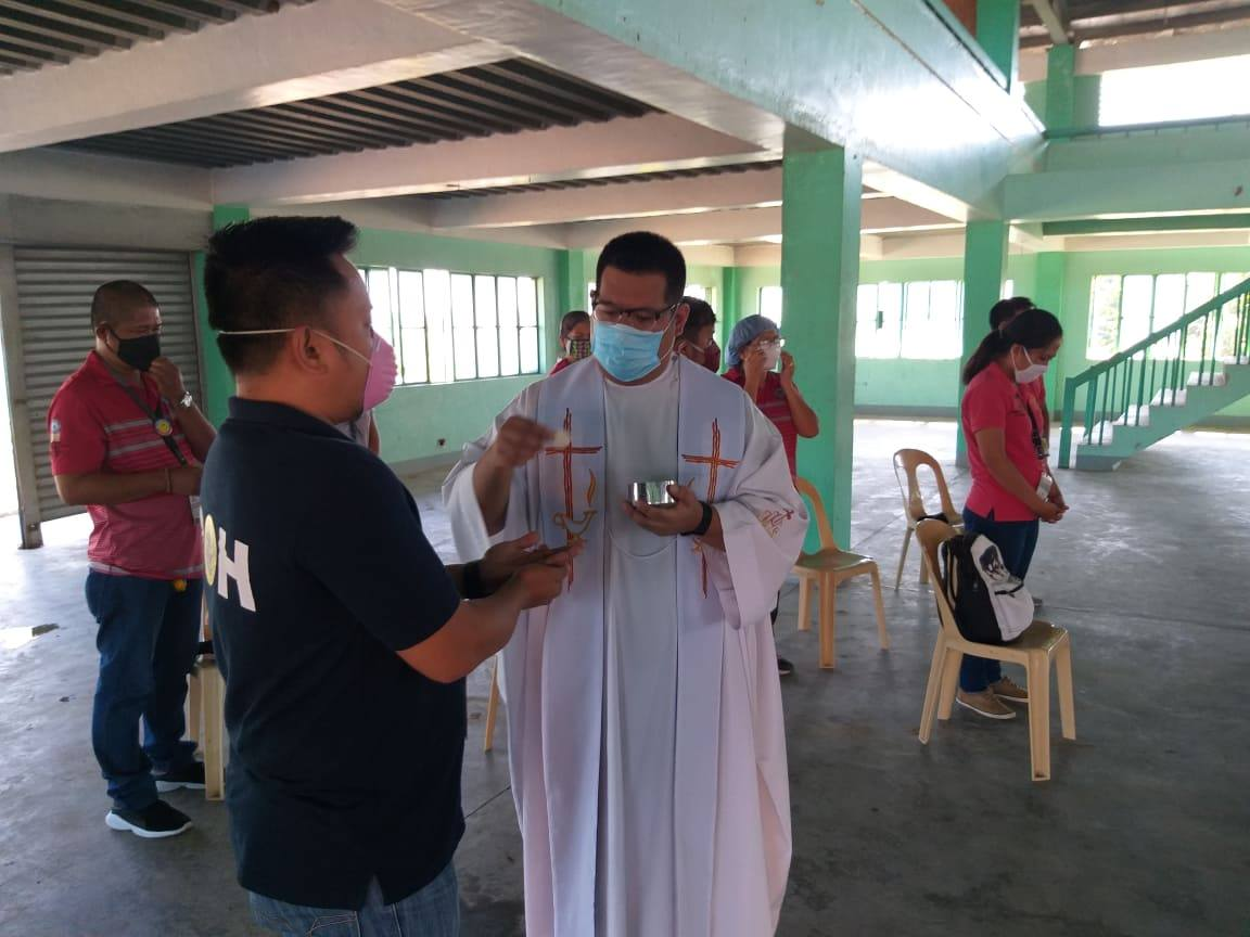 San Gabriel 1st at Pugo Evacuation Centers, Inayos Bilang Quarantine Facility