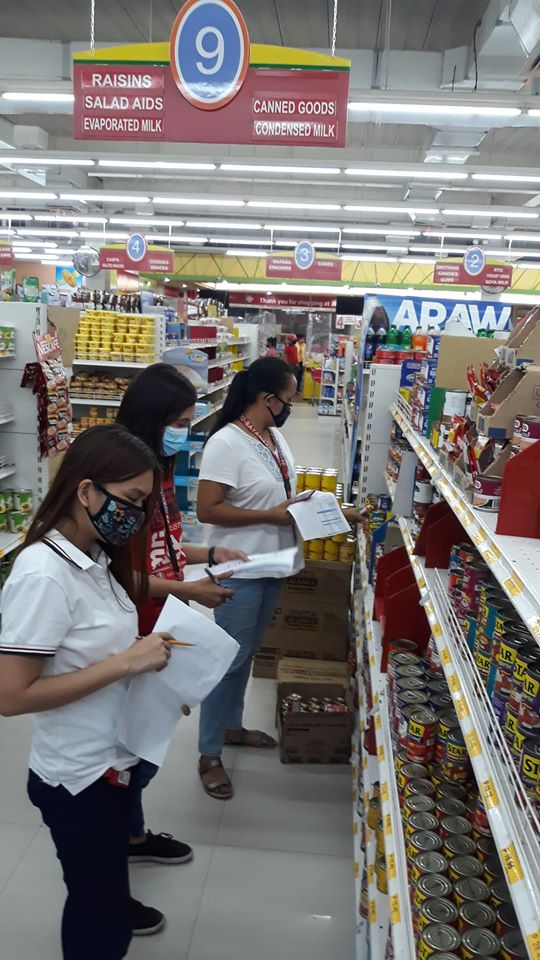 Price Monitoring ng DTI, SEE, Tuluy-Tuloy