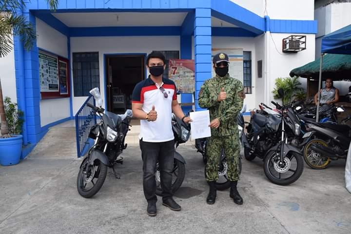 KKSBFI Nag-donate ng 4 Motorbikes sa PNP