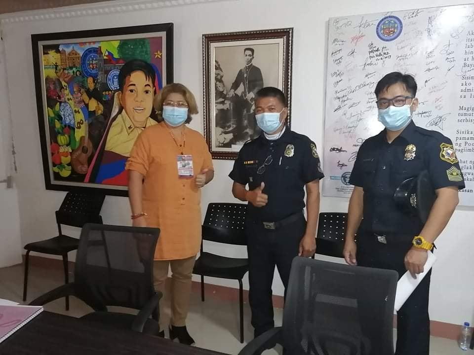 Bagong Hepe ng BFP, Nag-Courtesy Call kay Mayor CTQ