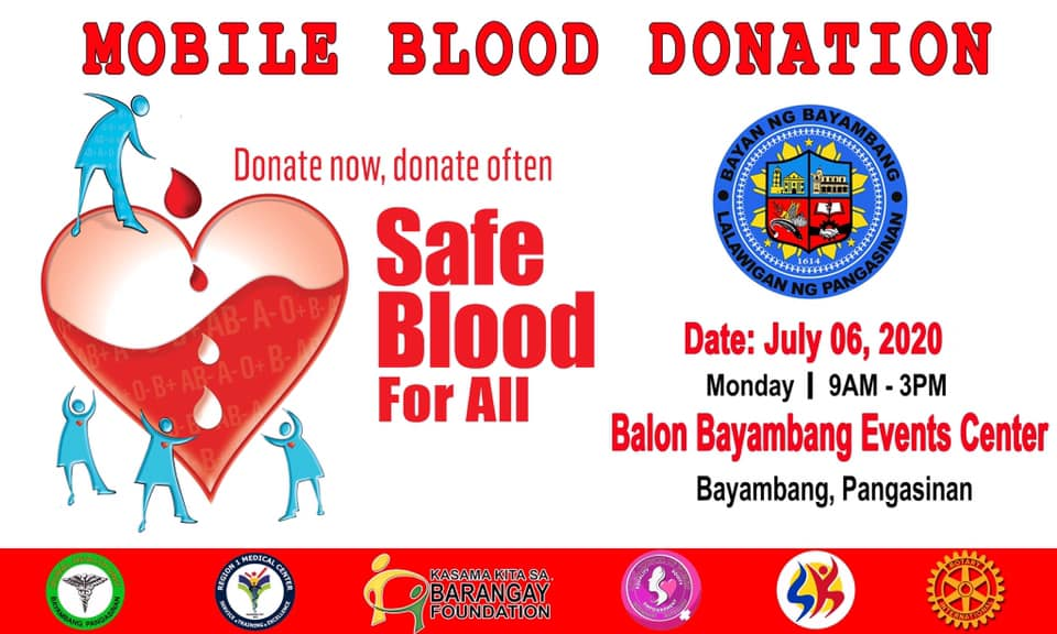 Mobile Blood Donation Drive