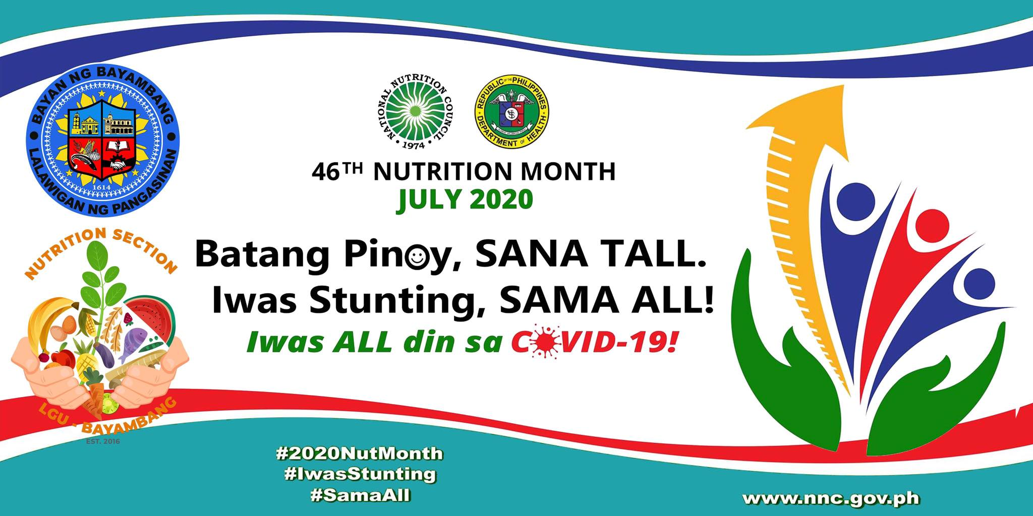 Nutrition Month 2020