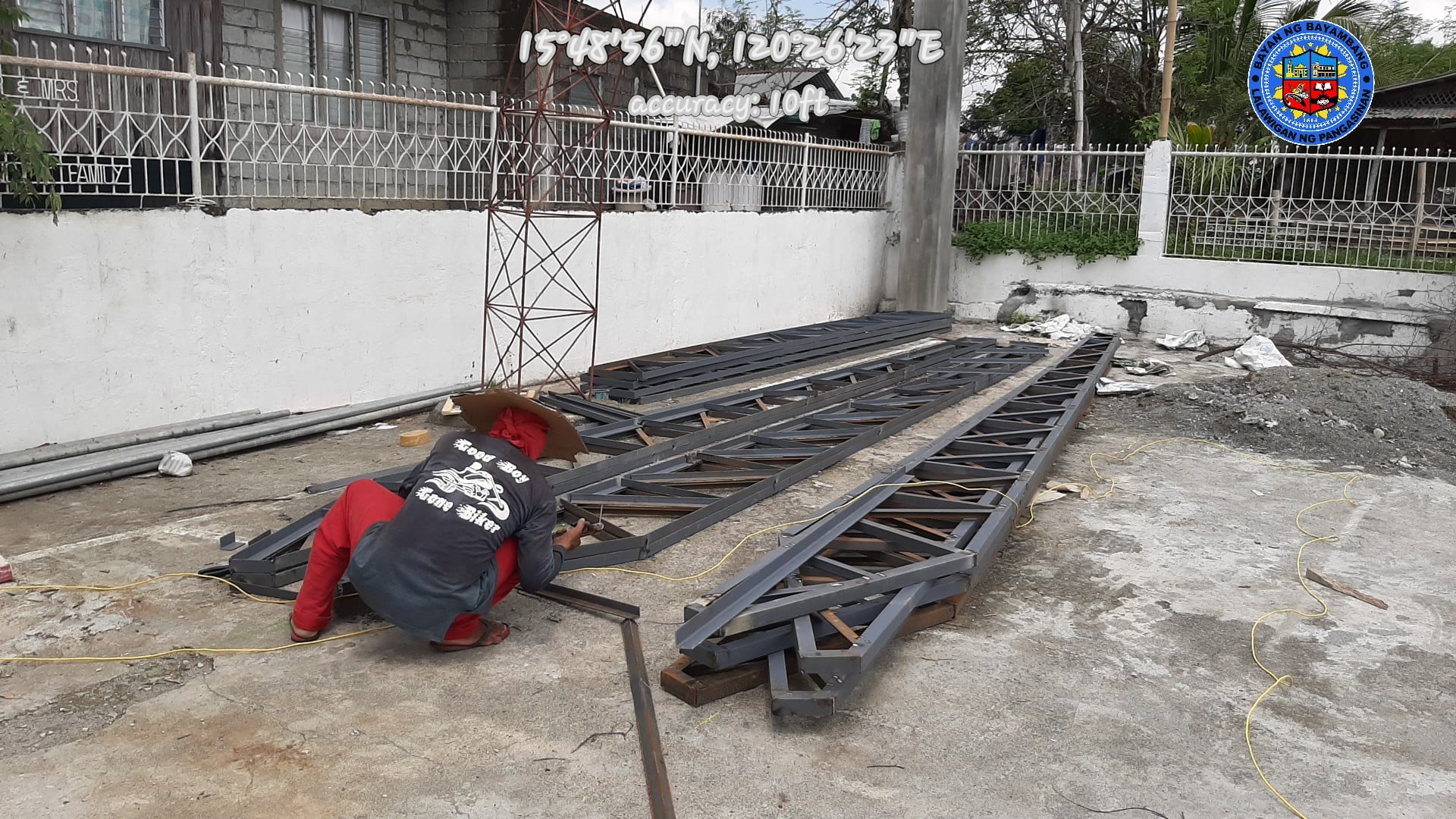 ONGOING Phase  2 Construction Of  Multi-Purpose Covered Court in Brgy. Bical Norte
