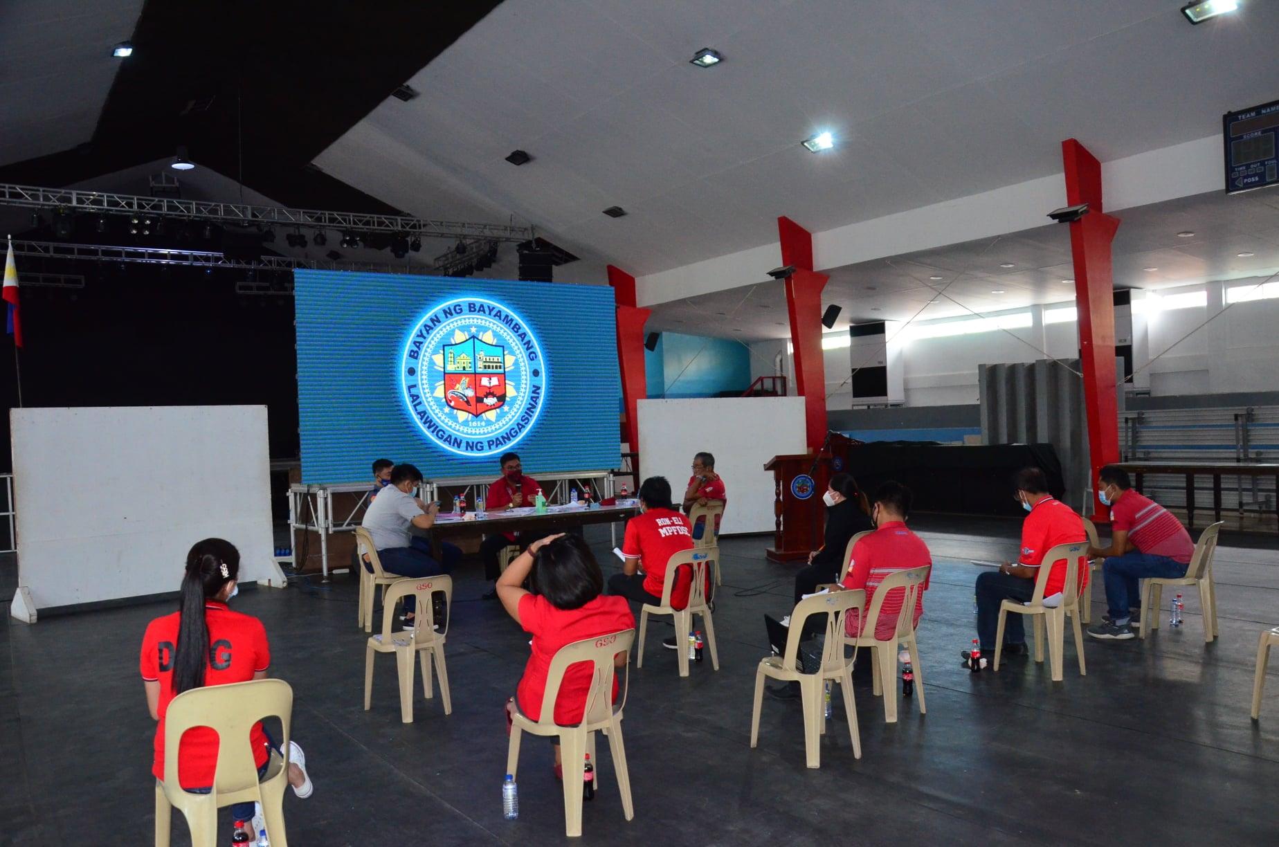 Sports Council, Nireorganisa