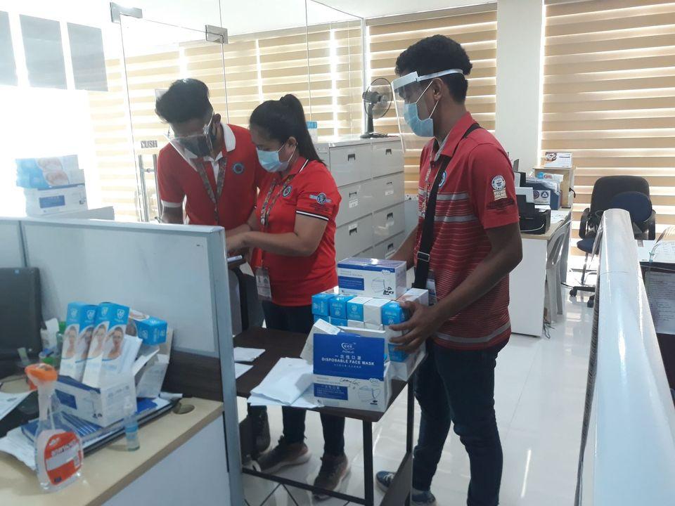 Supplier Donates Face Masks & Shields