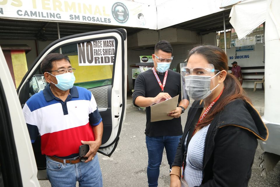 LTFRB Permit for 10 Bayambang-Carmen UV Express