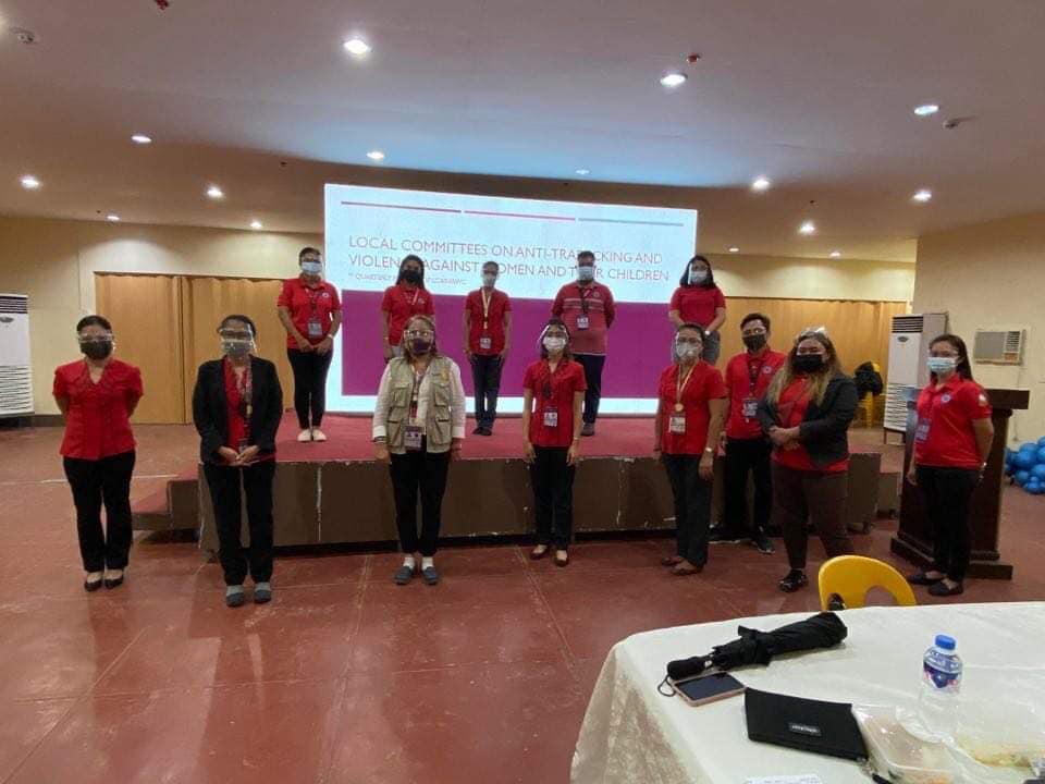 1Q Meeting ng LCAT-VAWC, Isinagawa