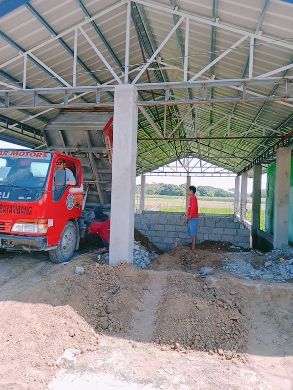 Hauling of Backfill for Brgy. Langiran Hatchery