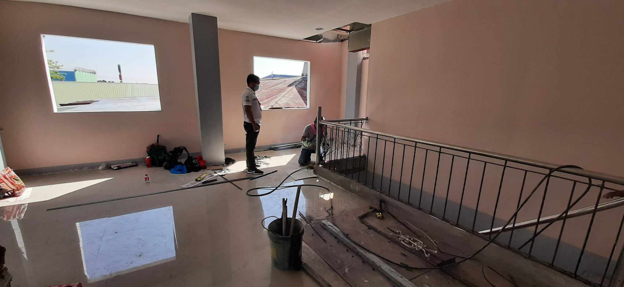 Ongoing Finishing of Municipal Accounting Extension Office