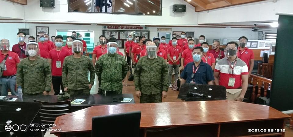 POSO Staff, Sumabak sa Intelligence Collection Training