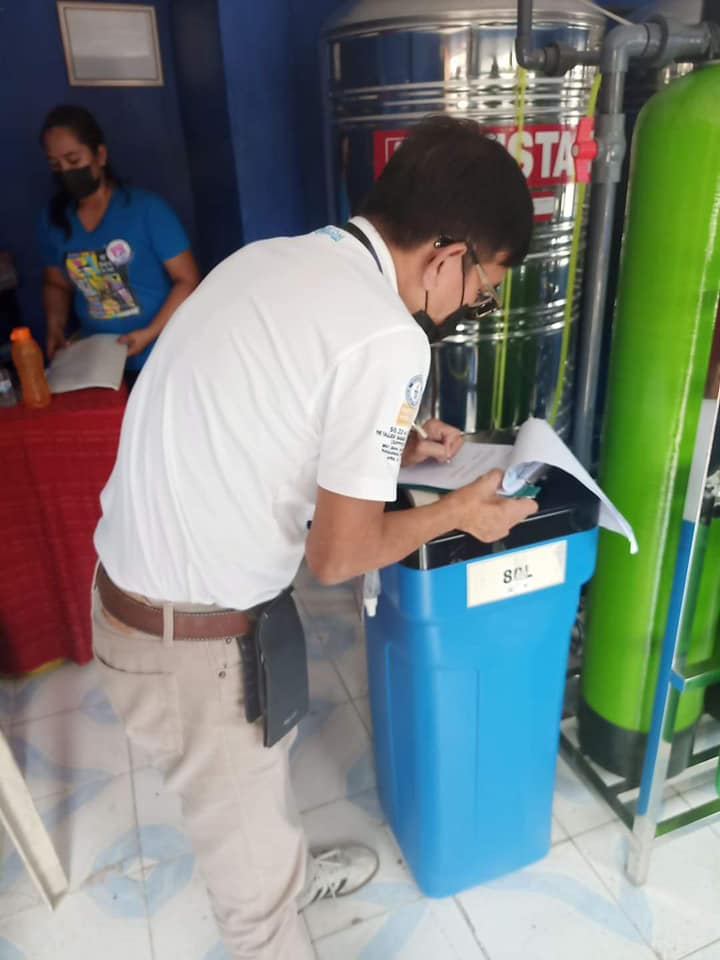 Inspection of Water Refilling Stations