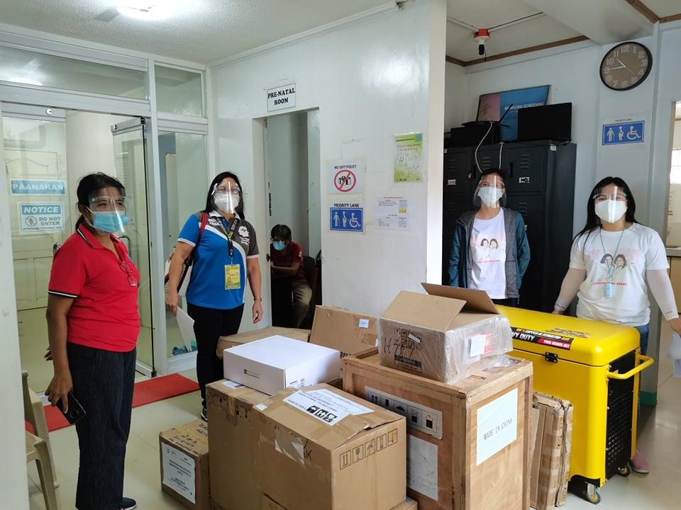 Bagong Medical Equipment para sa RHU II