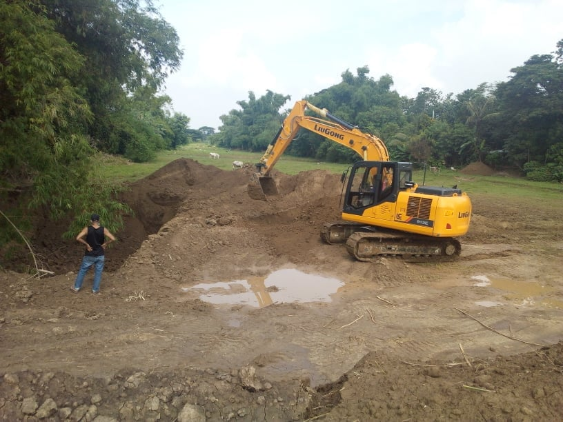 Reinforced Concrete Box Culvert, 2 Barrel with Approach, in Brgy. Pangdel