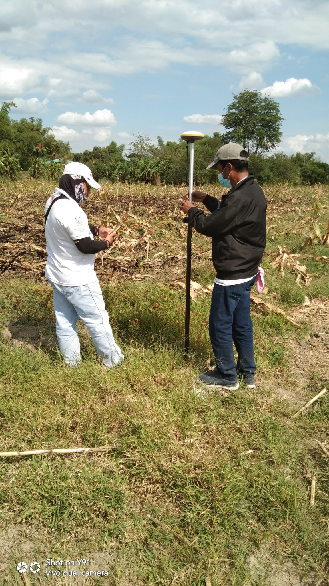 Assessor's Office Inspects Proposed Location of Public Cemetery in Pantol