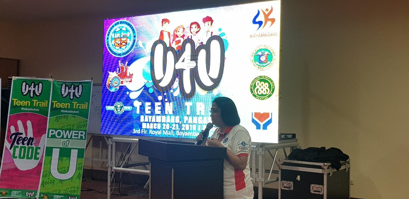 U4U Facilitators' Training & Teen Trail: Ang Education Campaign Laban sa Teenage Pregnancy at STDs