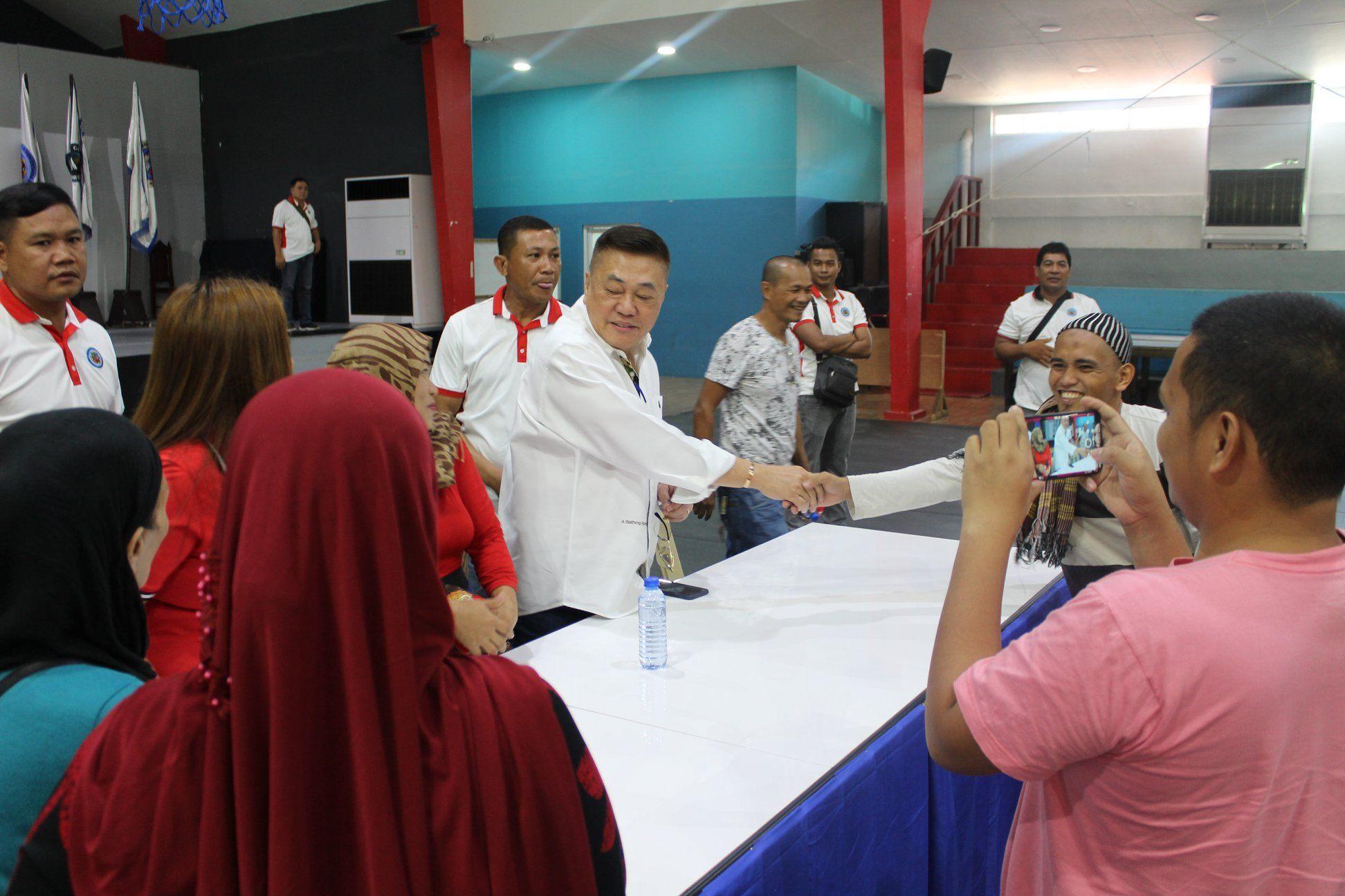 Muslim Vendors, Pinulong