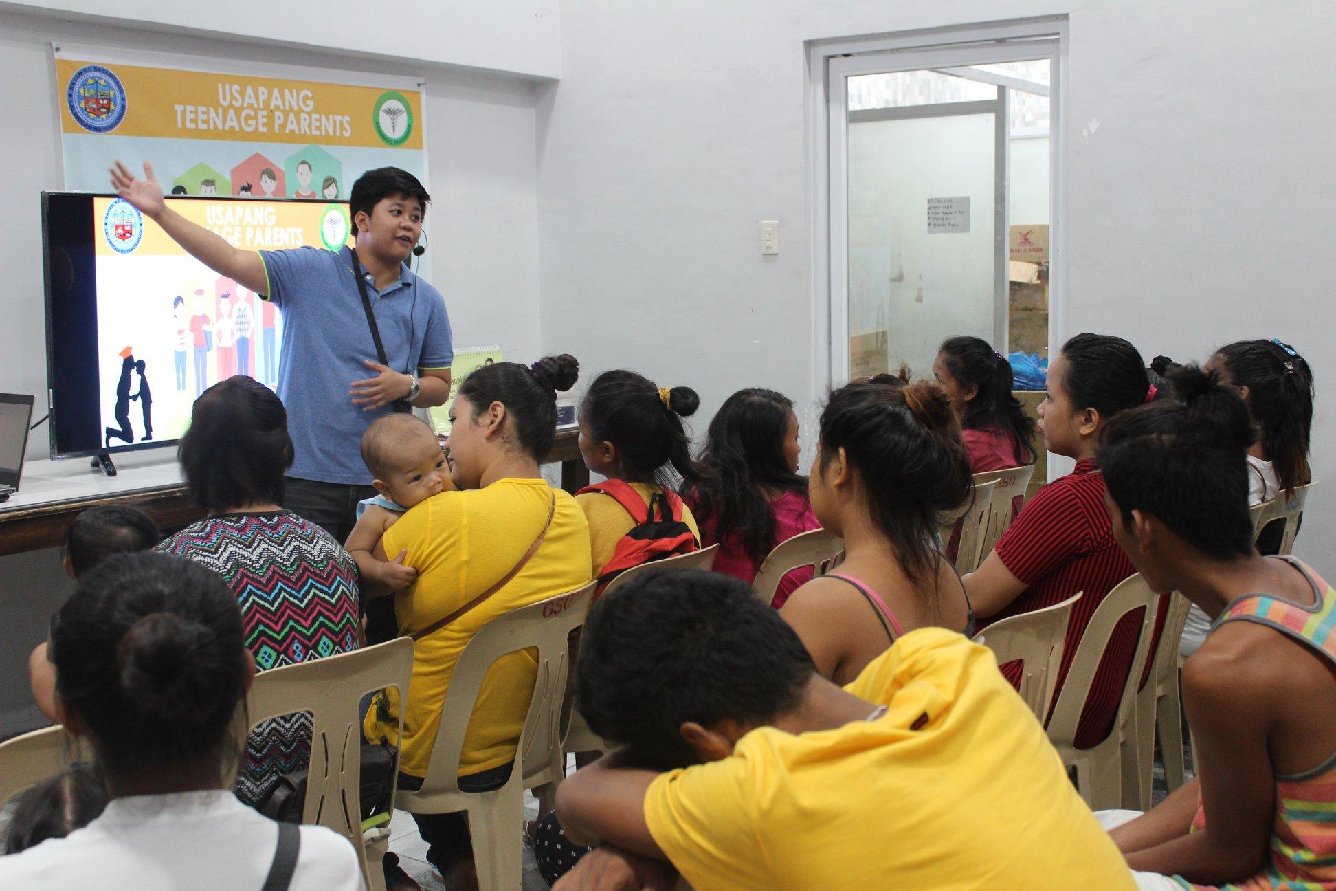 Usapang Teenage ParentsProgram for Youth Parents Barangay Zone 1-4, MH DEL PILAR, Magsasay & Poblacion Sur